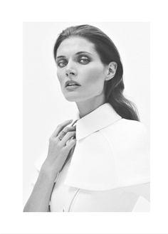 Malgosia Bela Poses in Harper's Bazaar Poland's March 2013 Cover