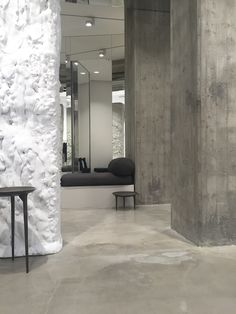 Rick Owens furniture line and store visit | Milan design week