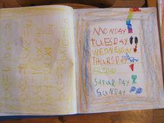 Grade 1 student lesson book.