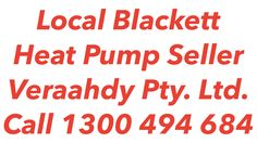 Heat Pumps Blackett
