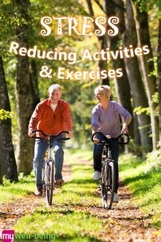 Great tips! Activities & exercises to help relieve #stress @mwbforme
