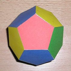 dodecahedron color