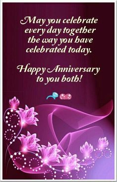 May you celebrate every day together the way you have celebrated today anniversary happy anniversary quotes and sayings anniversary quotes for… Happy Wedding Anniversary Message, Marriage Anniversary Wishes Quotes, Happy Wedding Anniversary Wishes, Wedding Anniversary Quotes For Couple, Wedding Aniversary, Wedding Congratulations Card, Quotes Marriage, Marriage Couple, Wedding Wishes