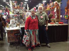 Treasures of the Gypsy booth- Puyallup, Wa. elinor peace bailey and Consort Ken Puyallup Wa, Doll Patterns, Fiber Art, Doll Clothes, Gypsy, Peace, Dolls, String Art, Puppet