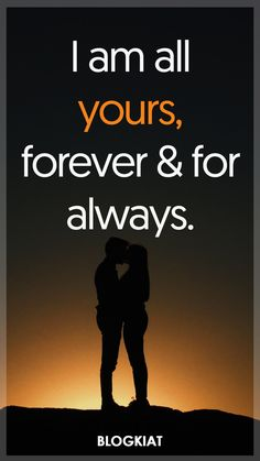 I am all yours, forever and for always. ************************* 50+ Good Night Love Quotes, Sayings, Messages For Him/Her #goodnightlovequotes #sweetquotes #lovequotes #lovequotesforher #lovequotesforhim #lovemessages #lovesayings #relationships #sweetdreams #takecarequotes #love