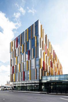 Post site Aalst / Abscis Architect en MALUS FINS