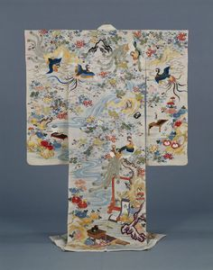 Furisode, Edo Period, 19th c, Kyoto National Museum