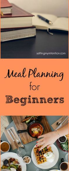 stress free meal planning for beginners