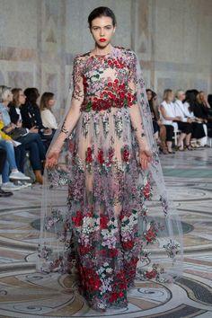 Défilé Giambattista Valli Haute couture automne-hiver 2017-2018 Femme