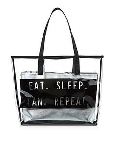 DNKY beach bag | playa | Pinterest | Bag and Clutch bags
