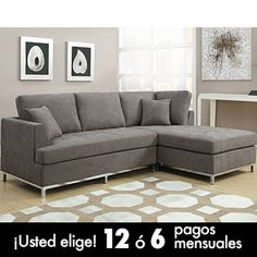 Beeson Fabric Queen Sleeper Chaise Sofa 20 Quot Seat Height
