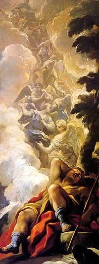 "MICHAEL WILLMANN c: 1691 ""Jacob's Dream"""
