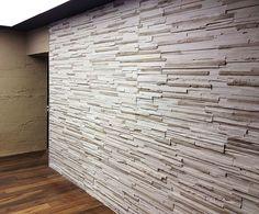 Wand Holz Optik