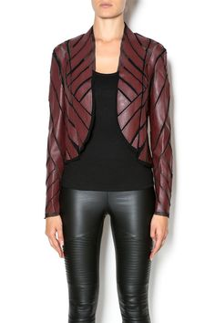 Mesh open jacket with leather blocks. Edgy and fun, this is a great piece for going out! Pair with a simple black top and black skinny jeans. Please note item will ship 10/7. Mesh Leather Jacket by Caribbean Queen. Clothing - Jackets, Coats & Blazers - Jackets - Leather New York City Manhattan, New York City