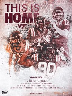This Is Home, 2015 Football Poster