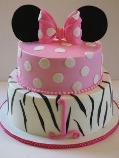 Minnie Mouse Birthday Cake for Karoline's 3rd birthday