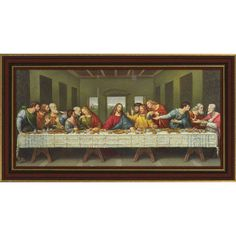 Da Vinci's The Last Supper Framed Print