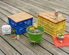 5 Creative Milk Crate Crafts | HGTV Design Blog – Design Happens