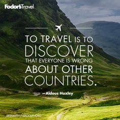 Where will you travel to next?