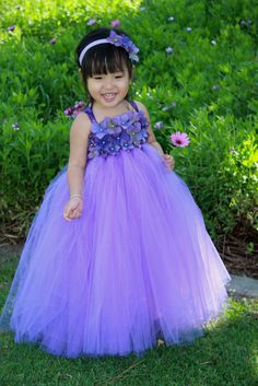 Delphiniun Pearl TuTu Dress by giselleboutique on Etsy, $95.00