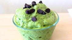 An Unorthodox Method Of Making Mint Chocolate Chip Ice Cream