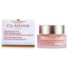 Look your Best! Grab Clarins Extra-Firming Neck Anti-Wrinkle Rejuvenating Cream only at Luxury Perfume, the home of authentic fragrances and beauty products.