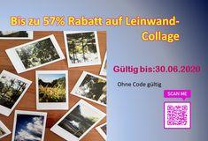 Sichere dir bis zu 57 % Rabattauf Leinwand- Collage - Gutscheine & Aktionen Polaroid Film, Canvas Collage, Gift Cards