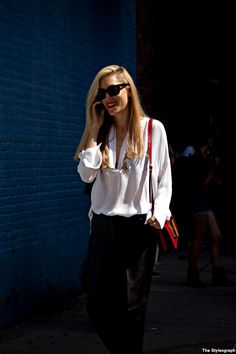 joanna hillman street style nyc fashion week