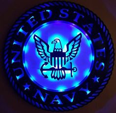 US Navy Wood Sign 3D Led Lighted https://www.etsy.com/listing/494094570/us-navy-wood-sign-3d-led-lighted?ref=shop_home_active_44 #USNAVY #WOODSIGN # COUPON CODE LOVE10 10%off