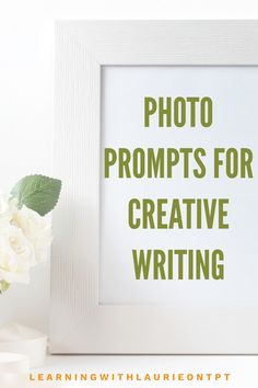 Pictures for writing stories with writing prompts. Stir up your students imagination with these unique pictures for creative writing. Perfect for at home practice during distance learning, writing intervention, whole or small group work, guided writing, practice for sentence writing, and writing centers. Life Skills Classroom, Special Education Classroom, Sentence Writing, Writing Practice, Photo Writing Prompts, Writing Centers, Teaching Language Arts, Group Work, Day Plan