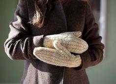 Ravelry: Wishbone Mittens pattern by Michele Rose Orne