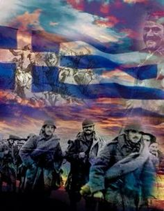 How Australia's media perceived Mussolini's ultimatum to Greece and 28 October the day we said OXI! Greece Painting, Greek Flag, Greek Language, Greek History, Greek Culture, Molon Labe, Army & Navy, Athens Greece, Ancient Greece