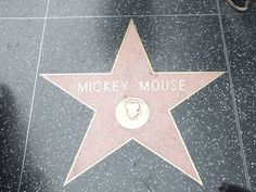 Today in Disney History   1978: It is announced that Mickey Mouse will be awarded a star on Hollywood Blvd's Walk of Fame next month in honor of his 50th birthday!