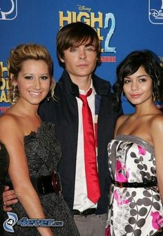 High School Musical, Ashley Tisdale, Zac Efron, Vanessa Hudgens, acteurs
