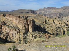 Apache Trail - view from Fishcreek Hill