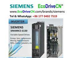 Siemens SINAMICS frequentieregelaar, частотно-управляемый привод, ЧУП, variable frequency drives, VFDs, inverters. www.EcoDriveCN.com/brands/siemens