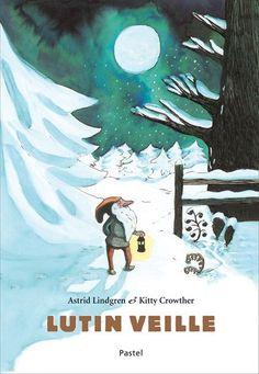 Lutin veille d'Astrid Lindgren - C'est un vieux, vieux lutin et il a vu la neige de centaines d'hivers. Il va et vient à pas feutrés dans le clair de lune et veille sur la ferme. Le lutin visite chaque maison et parle à chaque animal dans une petite langue silencieuse qu'eux seuls peuvent comprendre. Les hommes ne le voient jamais, mais parfois, le matin au réveil, les enfants découvrent...