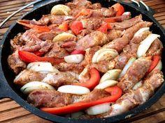 Schichtfleisch im Dutch Oven zubereiten