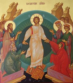 Christ is Risen! Indeed, He is Risen! Christ Is Risen, He Is Risen, Religious Icons, Religious Art, Jesus Ressuscité, Good Shepard, Orthodox Priest, Byzantine Icons, Jesus Cristo