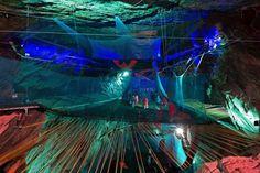 Zipworld - longest, fastest Zipline in Wales with underground caverns