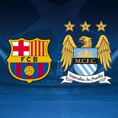 repost via @instarepost20 from @fcbarcelona Champions League draw: FC Barcelona v Man City #FCBlive  @fcbarcelona @mcfcofficial #UCL #instarepost20
