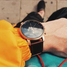 first of many__MVMT® #mvmt #watches #leather #streetwear #coachjacket #orange #gold