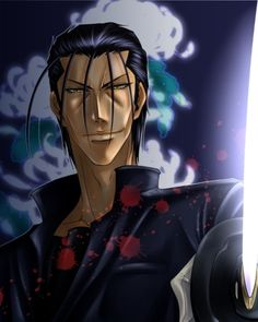 """""""A man who does not fight for his beliefs can only be pathetic, dead or alive"""" -Hajime Saito"""