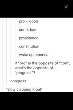 Progress.... congress