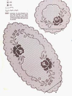 filet crochet View album on Crochet Table Runner Pattern, Crochet Doily Patterns, Crochet Tablecloth, Thread Crochet, Crochet Motif, Crochet Designs, Filet Crochet Charts, Crochet Dollies, Crochet Ripple