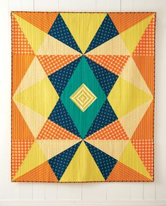 Echo from Quilt Giving: 19 Simple Quilt Patterns to Make and Give by Deborah Fisher #quiltpatterns #modernquilting #patchwork #doublesymmetry