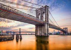あの有名な橋を渡ろう!ブルックリン橋