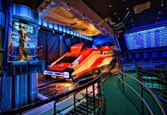 Star Tours empty, just the way i like it!