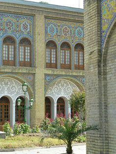 Part of the Golestan Palace