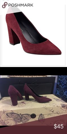 Marc Fisher Winter Pumps 👠 Marc Fisher Winter Pumps 👠 Size 7. New without box. Marc Fisher Shoes Heels